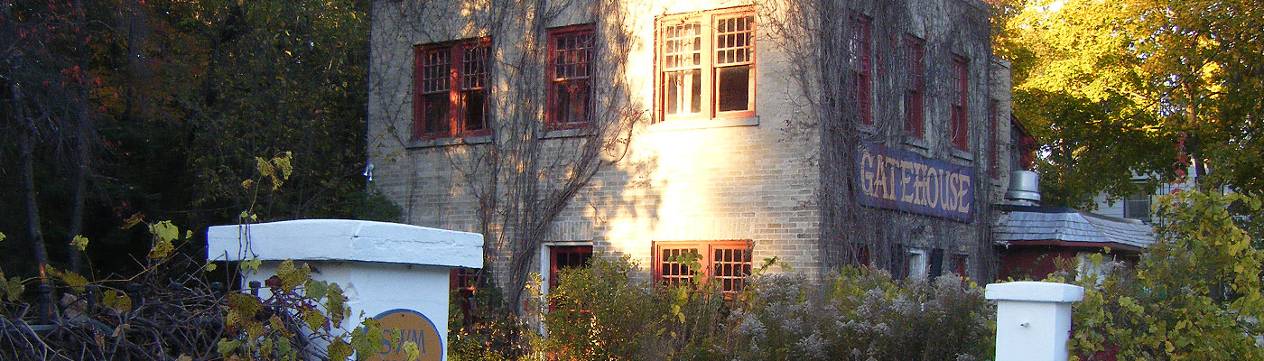 brick gatehouse, early Kawartha history, bed and breakfast, wedding venue