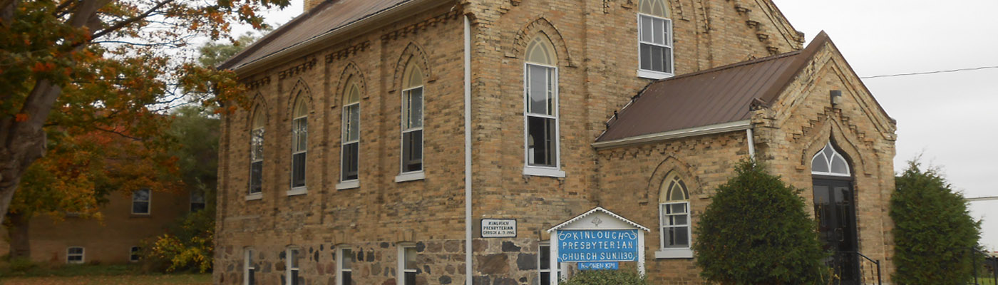 kinlough, ontario, historical, church, anniversary, brickwork