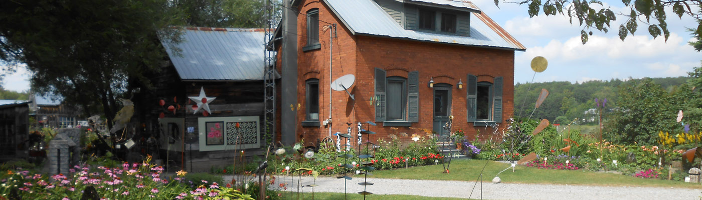 Muskoka historical farm turned artist's retreat, near Bracebridge