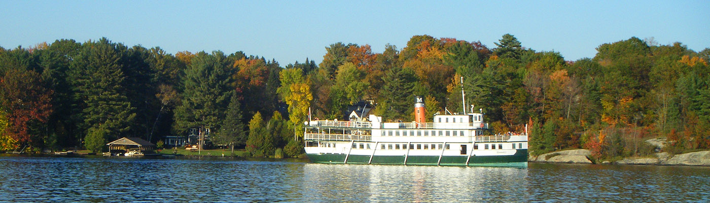 historic steamship, muskoka, northern Ontario