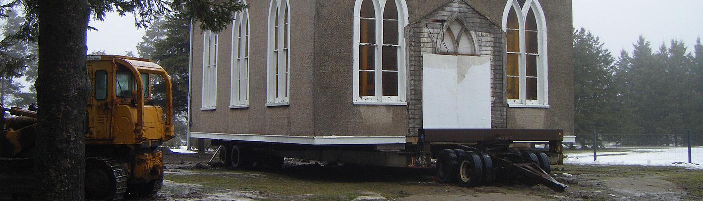 historic church moved to site of norwich, ontario museum