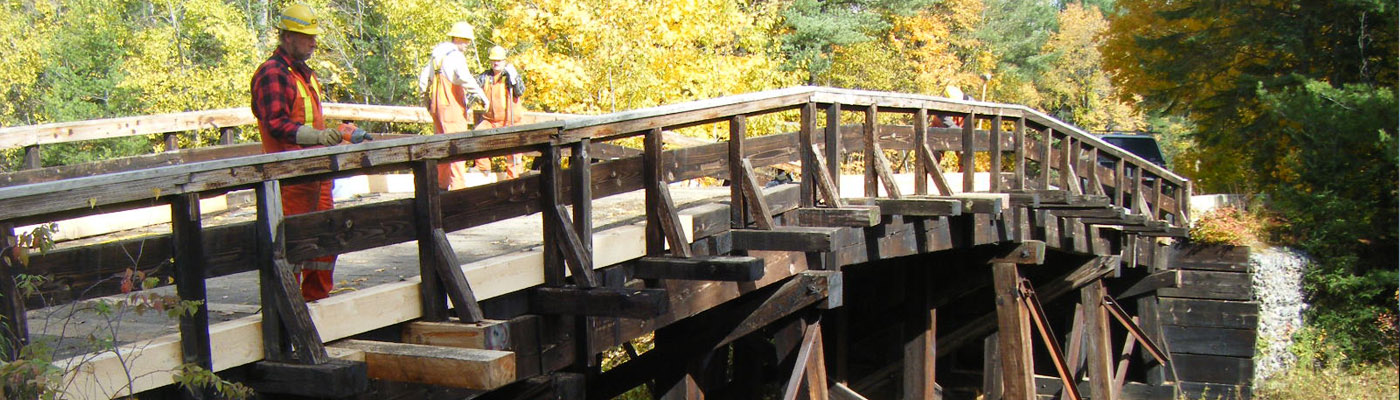 rail history, northern ontario, thunder bridge at scotia