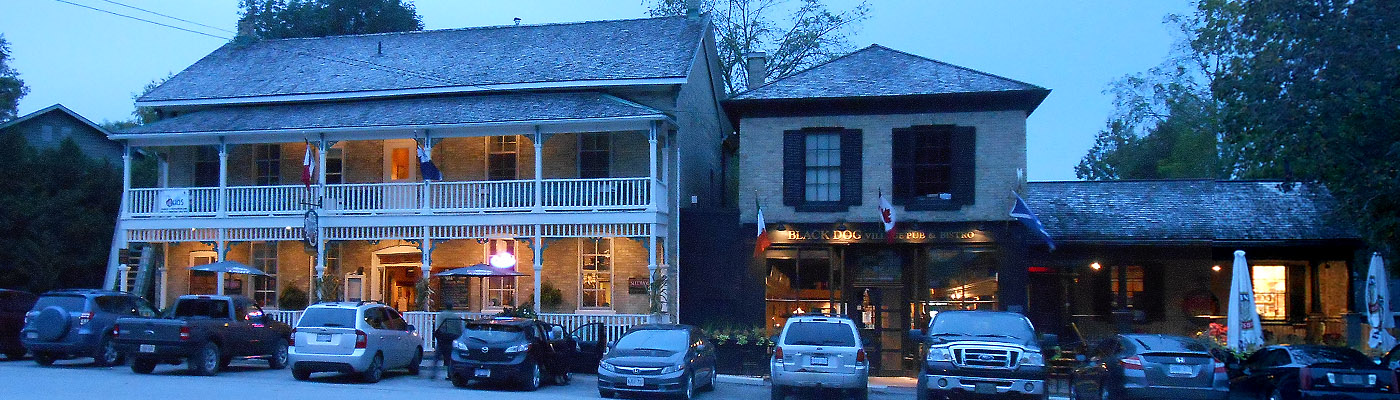 historical inn, port town, Bayfield, Ontario