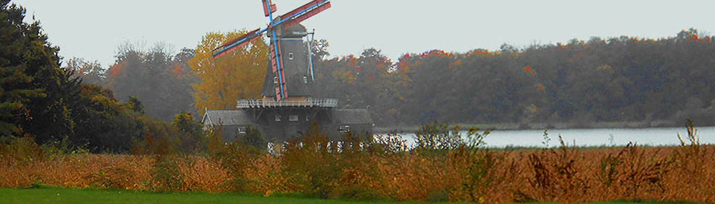 mill, reconstruction, Dutch windmill in Canada, Bayfield, Ontario