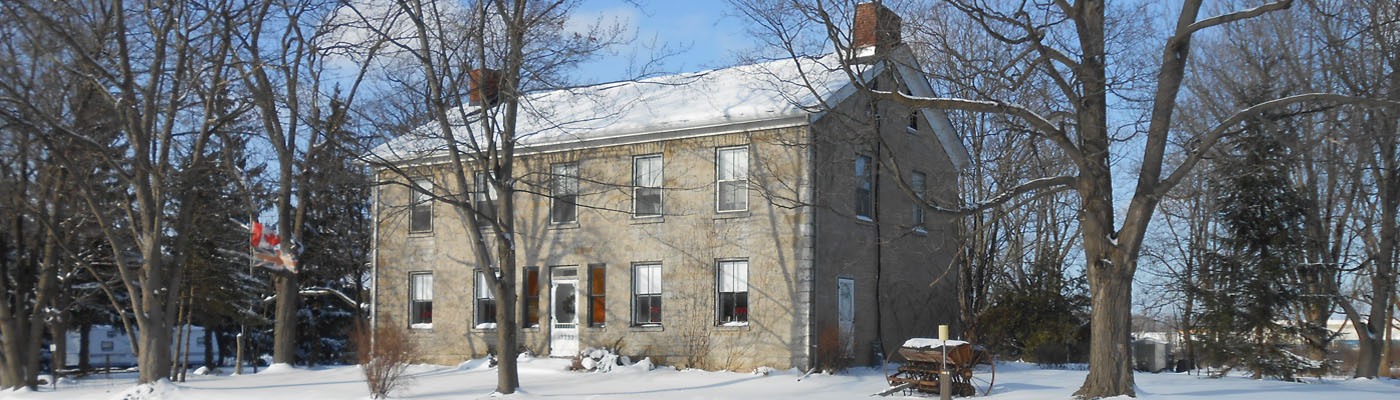 Niagara stone house, Loyalist, War of 1812