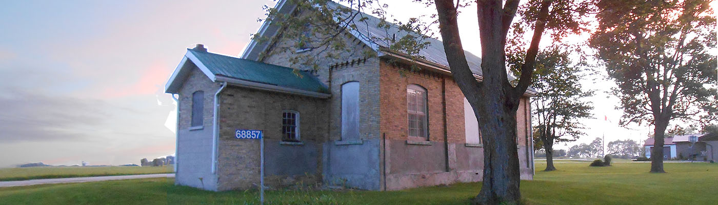 historic, schoolhouse, Huron County, Ontario