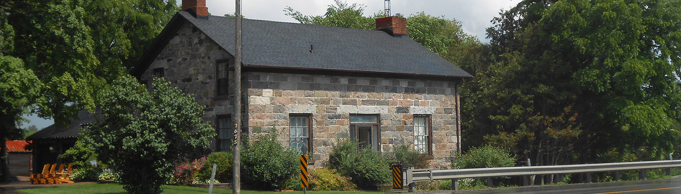 Scottish stonemasonry east of Toronto, pre-Confederation architecture