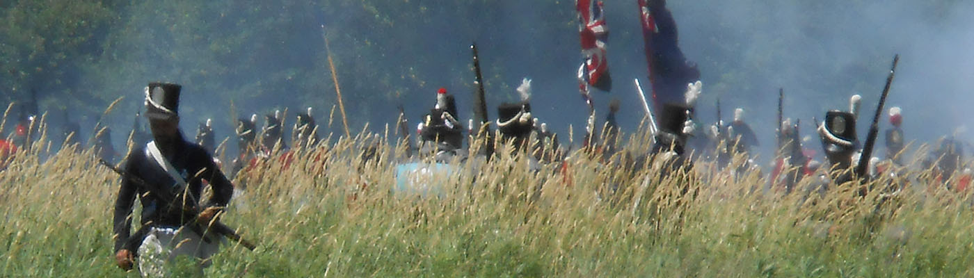 Niagara Parkway, War of 1812 Bi-Centennial Re-enactment, 2nd Lincoln Militia
